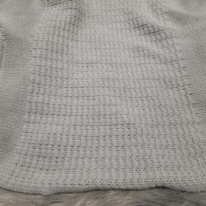 Zara Sweaters - Zara open front grey short sleev cardigan